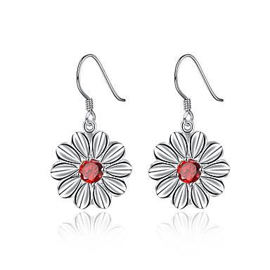 Pentru femei Fete Cercei Picătură Cristal Stil Floral Flori Floral Argilă Flower Shape Bijuterii Pentru Nuntă Petrecere Zilnic Casual