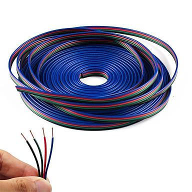 4 Farbe 10m rgb Verlängerungskabel Linie für LED Streifen rgb 5050 3528 Schnur 4pin