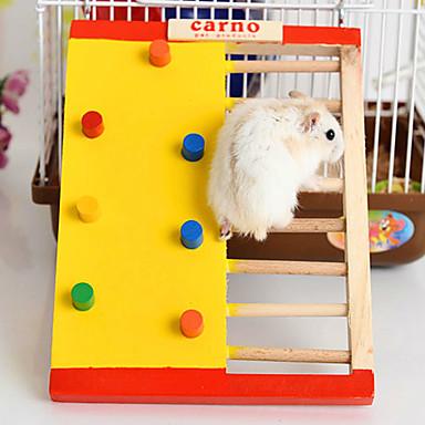 Kürklüler Hamster Tahta Portatif Cosplay Egzersiz Tekerlekleri