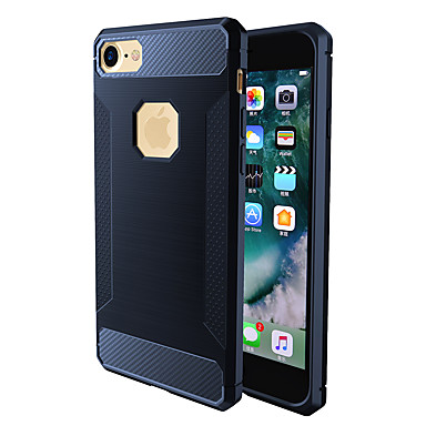 غطاء من أجل Apple iPhone 7 Plus iPhone 7 ضد الصدمات غطاء خلفي لون الصلبة ناعم TPU إلى iPhone 7 Plus iPhone 7 iPhone 6s Plus ايفون 6s
