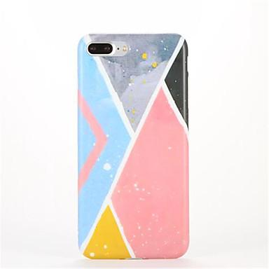 Etui Käyttötarkoitus iPhone 7 Plus iPhone 7 iPhone 6s Plus iPhone 6 Plus iPhone 6s iPhone 6 Apple Kuvio Takakuori Geometrinen printti
