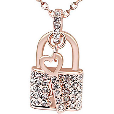 للمرأة قلائد الحلي مجوهرات مجوهرات كروم مخصص مجوهرات من أجل هدية يوميا فضفاض