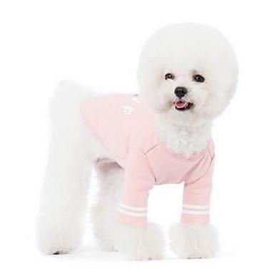 Koira T-paita Koiran vaatteet Hengittävä Sievä Rento/arki Piirretty Pinkki Asu Lemmikit