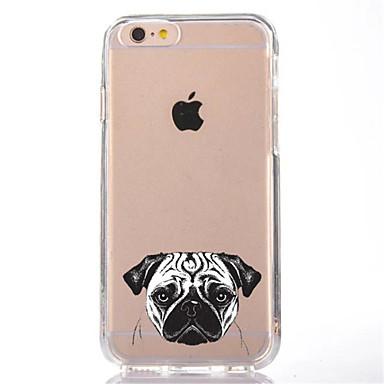 Για Διαφανής Με σχέδια tok Πίσω Κάλυμμα tok Σκύλος Μαλακή TPU για AppleiPhone 7 Plus iPhone 7 iPhone 6s Plus iPhone 6 Plus iPhone 6s