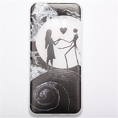 غطاء من أجل Samsung Galaxy S8 Plus S8 يضوي ليلاً مثلج نموذج غطاء خلفي كارتون ناعم TPU إلى S8 S8 Plus