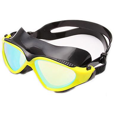 نظارات السباحة مكافح الضباب ملابس واقيه حجم قابل للتعديل مضاد للأشعة فوق البنفسجية مقاومة للخدش مضاد للكسر حزاممضادللانزلاق مقاوم