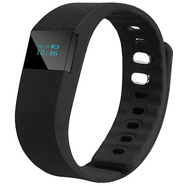 Inteligentny wyświetlacz OLED bransoletka fitness Flex inteligentny zegarek śledzenia snu passometer pulsometr mądry Nadgarstek