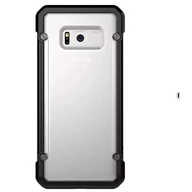Etui Käyttötarkoitus Samsung Galaxy S8 Plus S8 Iskunkestävä Läpinäkyvä Takakuori Yhtenäinen väri Kova PC varten S8 S8 Plus S7 edge S7 S6