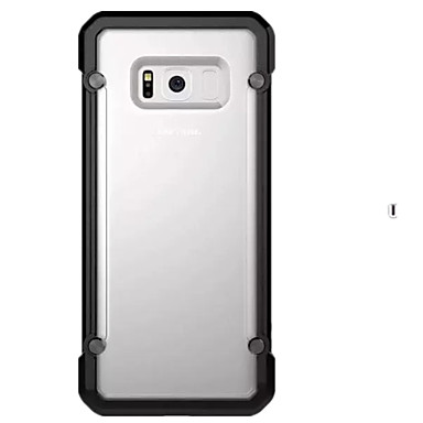 tok Για Samsung Galaxy S8 Plus S8 Ανθεκτική σε πτώσεις Ημιδιαφανές Πίσω Κάλυμμα Συμπαγές Χρώμα Σκληρή PC για S8 S8 Plus S7 edge S7 S6
