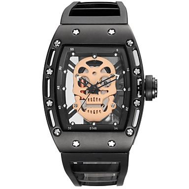 Erkek Çocuklar için Bilek Saati Bilezik Saat Asker Saat İskelet Saat Elbise Saat Moda Saat Spor Saat Quartz Su Resisdansı Büyük Kadran