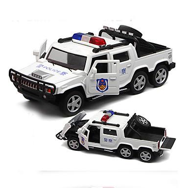 لعبة سيارات سيارة طراز سيارة الشرطة ألعاب محاكاة ألعاب سبيكة معدنية بلاستيك سبيكة معدن معدن 1 قطع الأطفال للأطفال الفتيان صبيان هدية