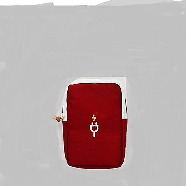 منظم أغراض السفر المحمول تخزين السفر إلى الهاتف الخليوي سماعة ملابس نايلون / للرجال للمرأة السفر