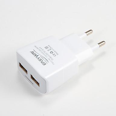 Încărcător Portabil Pentru iPad Pentru Telefon Pentru tabletă 2 Porturi USB Priză EU