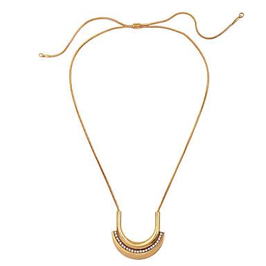 Damskie Naszyjniki z wisiorkami Geometric Shape Unikalny Modny euroamerykańskiej Gold Biżuteria Na Ślub 1szt