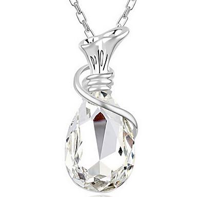 Γυναικεία Κρεμαστά Κολιέ Κρυστάλλινο Κοσμήματα Εξατομικευόμενο Επιθυμώντας μπουκάλι Κοσμήματα Για Καθημερινά