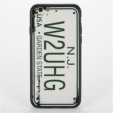 إلى نموذج غطاء غطاء خلفي غطاء جملة / كلمة قاسي PC إلى Apple فون 7 زائد فون 7 iPhone 6s Plus iPhone 6 Plus iPhone 6s أيفون 6