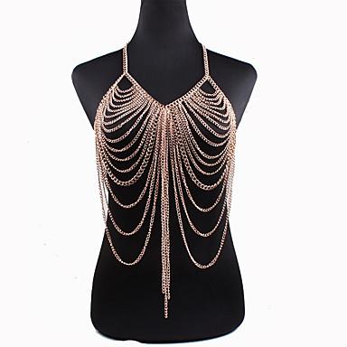Damskie Biżuteria Łańcuch nadwozia / Belly Chain Natura Bohemia Style Modny Stop Biżuteria Na Specjalne okazje Casual