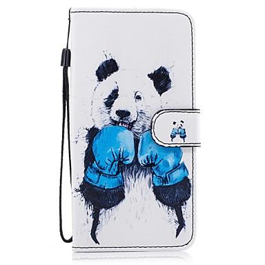 Kılıf Na Samsung Galaxy S8 Plus S8 Etui na karty Portfel Z podpórką Flip Wzór Pełne etui Zwierzę Twarde Skóra PU na S8 Plus S8 S7 edge S7