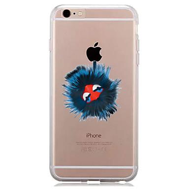 Maska Pentru Apple iPhone 7 Plus iPhone 7 Transparent Model Capac Spate Se joaca cu logo-ul Apple Moale TPU pentru iPhone 7 Plus iPhone 7