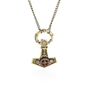 للمرأة للرجال قلائد الحلي مجوهرات Geometric Shape سبيكة تصميم دائري قلب ديني نمط بوهيميا مجوهرات من أجل