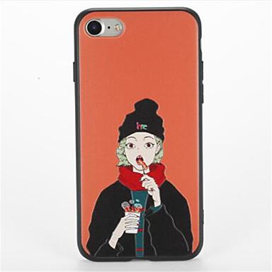 إلى نموذج غطاء غطاء خلفي غطاء امرآة مثيرة ناعم TPU إلى Apple فون 7 زائد فون 7 iPhone 6s Plus iPhone 6 Plus iPhone 6s أيفون 6
