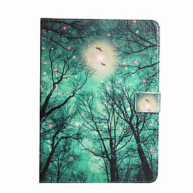 Uyumluluk Kılıflar Kapaklar Kart Tutucu Cüzdan Satandlı Flip Temalı Tam Kaplama Pouzdro ağaç Sert PU Deri için Samsung Tab A 7.0 (2016)