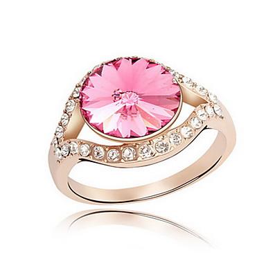 للمرأة خاتم مجوهرات زهري أساسي euramerican في الأحجار الكريمة الاصطناعية كروم مجوهرات مجوهرات من أجل حزب مناسبة خاصة هدية