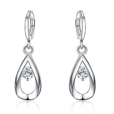 Κρεμαστά Σκουλαρίκια Euramerican Επάργυρο Κρεμαστό Κοσμήματα Για Καθημερινά 1 ζευγάρι