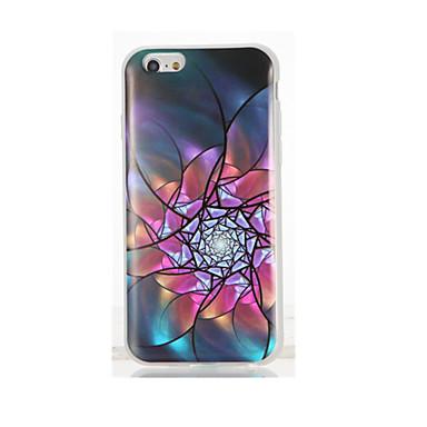 Pentru IMD Model Maska Carcasă Spate Maska Floare Moale TPU pentru AppleiPhone 7 Plus iPhone 7 iPhone 6s Plus iPhone 6 Plus iPhone 6s