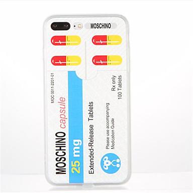 غطاء من أجل Apple نموذج غطاء خلفي جملة / كلمة ناعم TPU إلى فون 7 زائد فون 7 iPhone 6s Plus iPhone 6 Plus iPhone 6s أيفون 6