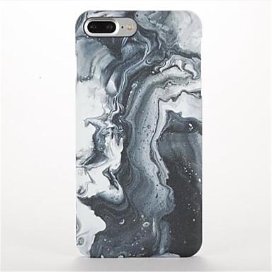 Için Buzlu Temalı Pouzdro Arka Kılıf Pouzdro Mermer Sert PC için AppleiPhone 7 Plus iPhone 7 iPhone 6s Plus iPhone 6 Plus iPhone 6s