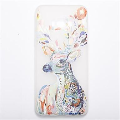 Maska Pentru Samsung Galaxy S8 Plus S8 Stralucire in intuneric Mătuit Model Carcasă Spate Animal Moale TPU pentru S8 S8 Plus