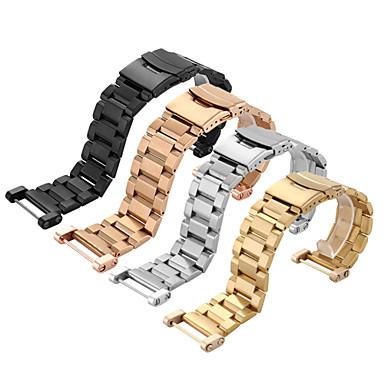 pentru instrumente de bază din oțel inoxidabil Watchband suunto ceas din metal solid curea bratara de asigurare dublu 24mm cataramă