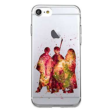 tok Για Apple Εξαιρετικά λεπτή Με σχέδια Πίσω Κάλυμμα Διαβάθμιση χρώματος Μαλακή TPU για iPhone 7 Plus iPhone 7 iPhone 6s Plus iPhone 6