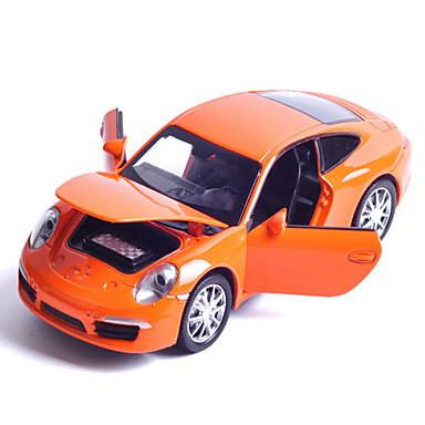 سيارة طراز سيارات السحب سيارة سباق ألعاب الموسيقى والضوء ألعاب معدن قطع غير محدد هدية