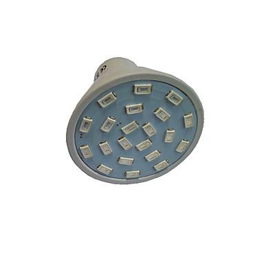 1.5W GU10 GU5.3(MR16) E27 Lampy szklarniowe LED MR16 21 Diody LED SMD 5733 Czerwony Niebieski 250lm 2700-3500K AC110 AC220V