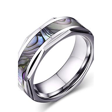Bărbați Inel - Rotund / Circle Shape / Geometric Shape Personalizat / De Bază / Euramerican Culori Asortate Inel Pentru Petrecere /