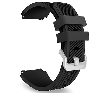 voordelige Horlogebandjes voor Samsung-Horlogeband voor Gear S3 Frontier / Gear S3 Classic Samsung Galaxy Sportband Silicone Polsband