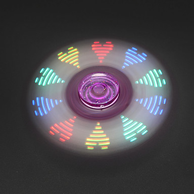 فيدجيت سبينر اليد سبينر ألعاب مكتب مكتب اللعب لقتل الوقت التركيز لعبة يخفف أد، أدهد، والقلق والتوحد التوتر والقلق الإغاثة ضوء LED ثلاثي