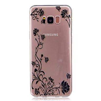 غطاء من أجل Samsung Galaxy S8 Plus S8 IMD شفاف غطاء خلفي زهور ناعم TPU إلى S8 S8 Plus S7 edge S7 S6 edge S6 S5