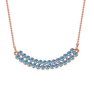 Kadın's Uçlu Kolyeler Mücevher Kişiselleştirilmiş Dairesel Tasarım Moda Euramerican Mücevher Uyumluluk Düğün Parti