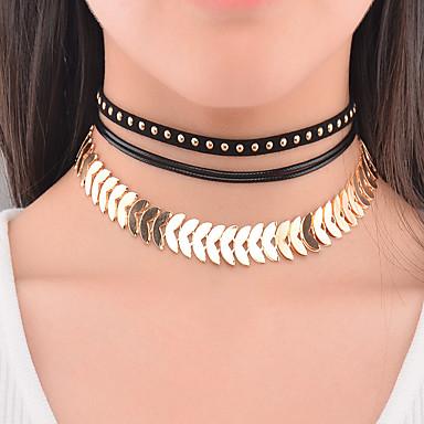Pentru femei Altele Personalizat Modă Euramerican Coliere Choker Bijuterii Aliaj Coliere Choker . Ocazie specială Zilnic Casual În aer