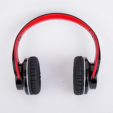 على الاذن لاسلكي Headphones بلاستيك الهاتف المحمول سماعة HIFI عزل الضوضاء سماعة