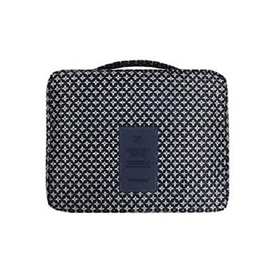 حقيبة أدوات تجميل للسفر حقيبة مستحضرات التجميل منظم أغراض السفر مقاوم للماء المحمول متعددة الوظائف تخزين السفر إلى ملابس أكسفورد نايلون /