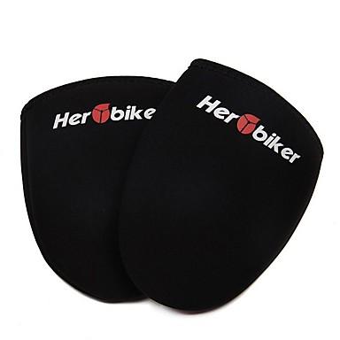 هيروبيكر دراجة نارية ركوب الزجاج غطاء الطريق الدراجة الجبلية الغبار البارد الدافئة غطاء الحذاء