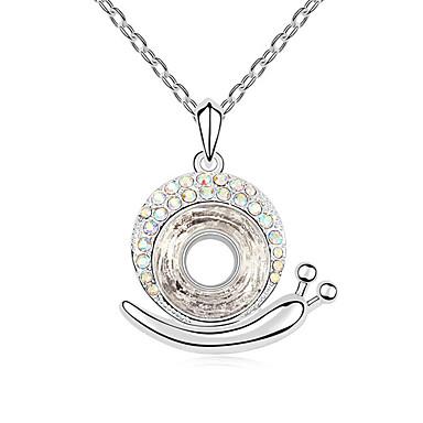 Kadın's Uçlu Kolyeler Mücevher Mücevher Sentetik Taşlar alaşım Eşsiz Tasarım Moda Mücevher Uyumluluk Parti Günlük
