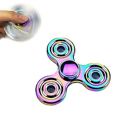 Handkreisel Handspinner Spielzeuge Tri-Spinner Stress und Angst Relief Büro Schreibtisch Spielzeug Zum Töten der Zeit Fokus Spielzeug