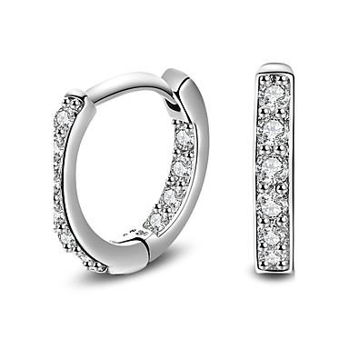 Cercei - Argilă Clasic, stil minimalist, Modă Argintiu Pentru Cadouri de Crăciun / Nuntă / Petrecere
