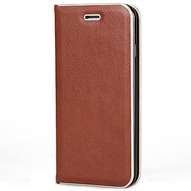 Für iphone 7 7 plus Fallabdeckungskartenhalter-Flip magnetischer voller Körperkasten Normallack hartes PU-Leder für iphone 6s 6 plus 6s 6