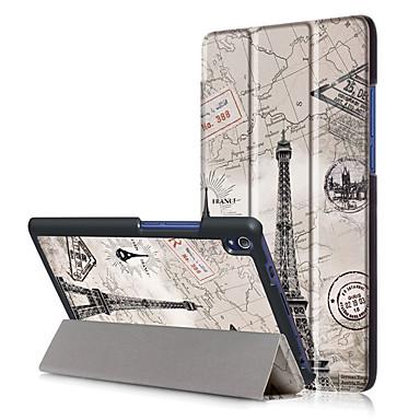 Pu case cover für lenovo tab3 tab 3 8 plus 8703 tb-8703f p8 mit Displayschutzfolie